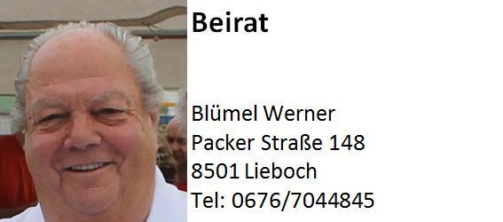 Blümel Werner